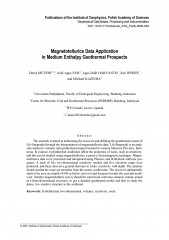 Magnetotellurics Data Application in Medium Enthalpy Geothermal Prospects