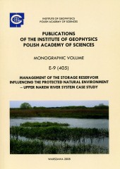 Management of the Storage Reservoir Influencing the Protected Natural Environment - Upper Narew River System Case Study