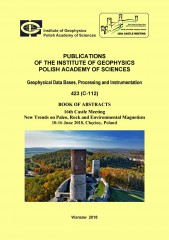 Book of Abstracts. 16th Castle Meeting: New Trends on Paleo, Rock and Environmental Magnetism, 10-16 June 2018, Chęciny, Poland
