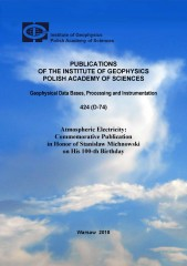 Atmospheric electricity: Commemorative Publication in Honor of Stanisław Michnowski on His 100-th Birthday