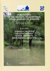 Hydraulic Methods for Catastrophes: Foods, Droughts, Environmental Disasters
